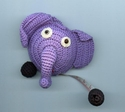 Purple Elephant Tape Measure