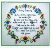 Quilt Square 8 Family Blessing