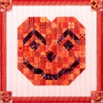Quilted Jack-O-'Lantern