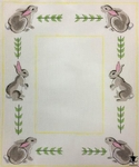 Rabbits All Around Frame