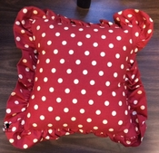 Red Dots Pillow