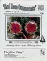 Red Rose Ornaments 2008