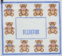 Room Signs with Bears