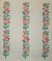 Roses Luggage Straps