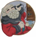 Santa with Pipe