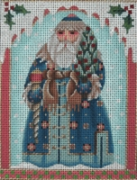 Santas Around the World Tiles by Melissa Shirley