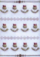 Scottish Sampler Cross Stitch Pattern