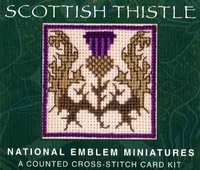 Scottish Thistle Emblem Kit