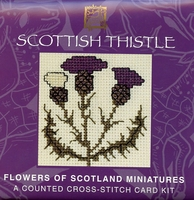 Scottish Thistle Gift Card Kit