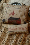 Silent Night Pinkeep & Ornament