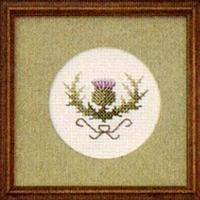 Small Formal Thistle