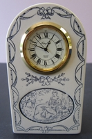 Small Scrimshaw Clock