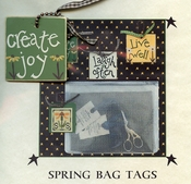 Spring Bag Tags - Create Joy