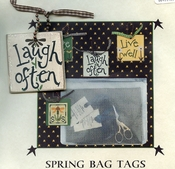 Spring Bag Tags - Laugh Often