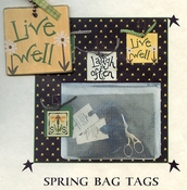 Spring Bag Tags - Live Well