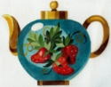 Strawberries Teapot