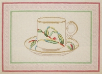 Tea Cup With Border