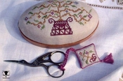 Tree of Life Pincushion and Scissor Fob
