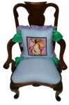 Umbrella Girl Chair Back