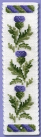 Victorian Thistles Bookmark Kit