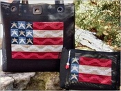 Waving Flag Tote & Clutch