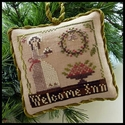 Welcome Inn - Sampler Tree Ornament