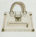 White & Gold Purse