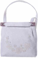 White On White Shoulder Bag
