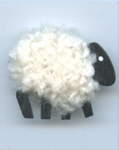 White Sheep Needle Minder