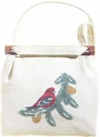 White-winged Crossbill Shoulder Bag