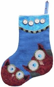 Whooo Owl Stocking