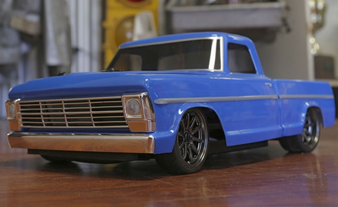 1/10 1968 Ford F-100 Pick Up Truck V100-S 4WD Brushed RTR RC TRUCK WATERPROOF