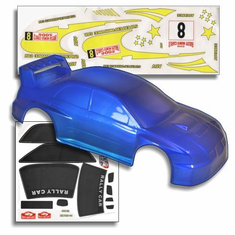 1/10 200mm Onroad Car Body Blue