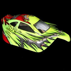 1/10 Buggy Body Red and Green