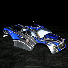 1/10 Truck Body Black and Blue