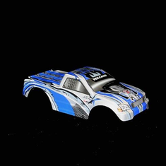 1/10 Truck Body Blue and Silver