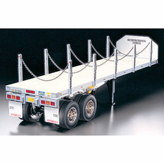 1/14 Semi Flatbed Trailer Kit by Tamiya
