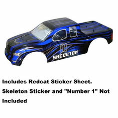 1/5 Blue and Black Truck Body
