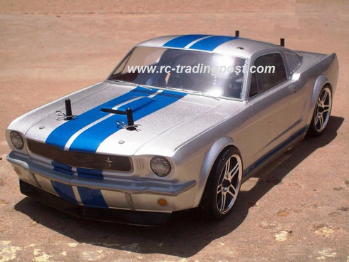 1965 Ford Shelby GT-350 Redcat Racing Gas RTR Custom Painted Nitro RC Cars Now With 2.4 GHZ Radio System!!!