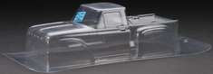 Clear RC Body 1966 Ford F-100 Clear Body:Stampede 2WD, 4x4 by Pro-line Racing