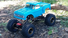 1966 Ford F-100 Redcat Everest 10 4X4 1/10th Electric RC Rock Crawler Ready To Run Custom Painted With 2.4Ghz Radio And Waterproof Electronics