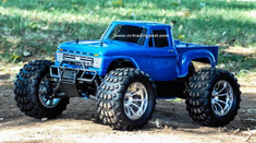1966 Ford F-100 Redcat Volcano S30 4X4 1/10th 40+MPH Nitro RC Monster Truck Ready To Run Custom Painted With 2.4Ghz Radio System