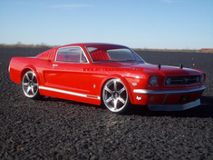 1966 FORD MUSTANG GT Custom Painted RC Touring Car / RC Drift Car Body 200mm (Painted Body Only)
