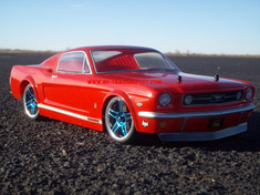 1966 FORD MUSTANG GT Redcat Racing EP Brushless RTR Custom Painted Electric RC Street Cars Now With 2.4 GHZ Radio AND 2S Lipo Battery!!!