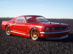 1966 FORD MUSTANG GT Redcat Racing EPX RTR Custom Painted Electric RC Drift Cars Now With 2.4Ghz Radio!!!