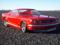 1966 FORD MUSTANG GT Redcat Racing EPX RTR Custom Painted Electric RC Street Cars Now With 2.4Ghz Radio!!!