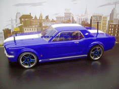 1966 Mustang GT Coupe Redcat Racing EP Brushless RTR Custom Painted Electric RC Street Cars Now With 2.4 GHZ Radio AND 2S Lipo Battery!!!