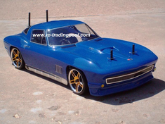 1967 Chevrolet Corvette Stingray Redcat Racing EPX RTR Custom Painted Electric RC Drift Cars Now With 2.4Ghz Radio!!!
