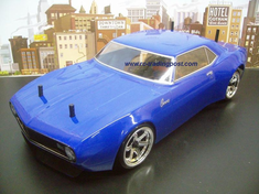 1968 Chevrolet Camaro Custom Painted RC Touring Car / RC Drift Car Body 200mm (Painted Body Only)