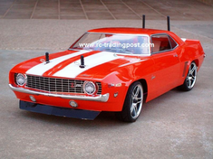 1969 Chevy Camaro Z28 Redcat Racing EP Brushless RTR Custom Painted Electric RC Street Cars Now With 2.4 GHZ Radio AND 2S Lipo Battery!!!